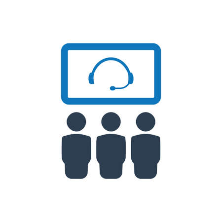 Beautiful, Meticulously Designed Video Conference Icon