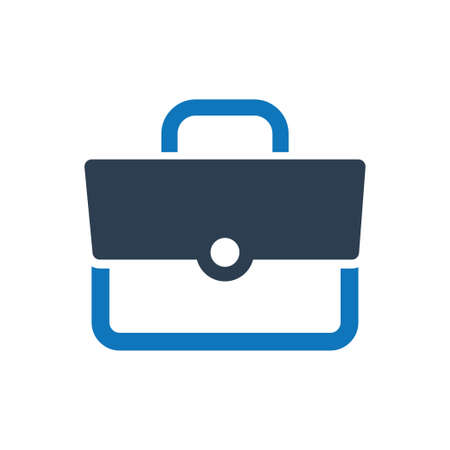 Beautiful, Meticulously Designed Briefcase, Suitcase Icon