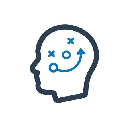 Thinking Strategic Planning Icon