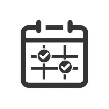 Beautiful, Meticulously Designed  Appointment Schedule Icon