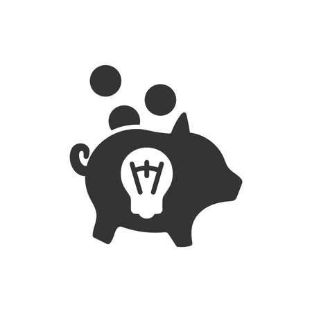 Creative Money Saving Icon