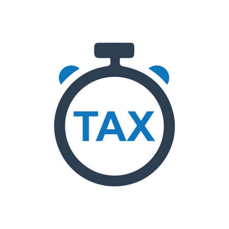 Beautiful, Meticulously Designed Tax Refund Time Icon