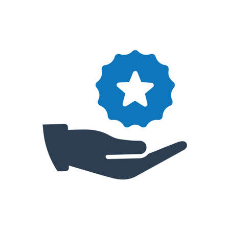 Beautiful, Meticulously Designed Certificate Reward Icon Иллюстрация