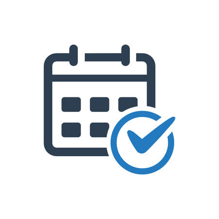 Beautiful, Meticulously Designed Event Schedule Icon