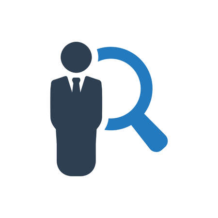 Beautiful, Meticulously Designed Job Search Icon
