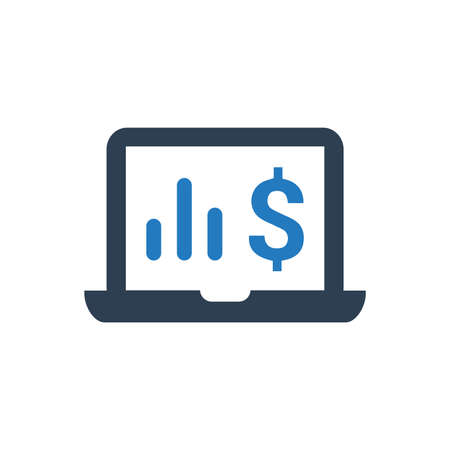 Beautiful, Meticulously Designed Online Marketing Report Icon
