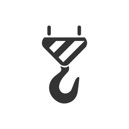 Towing Hook Icon Illustration