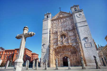 San Pablo Church  Valladolid, Spain  Standard-Bild