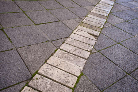 personal perspective: Old Stone Paving with textured effect. Personal Perspective.
