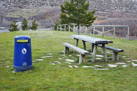 Roadside Rest Area in Northern Spain photo