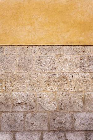 adobe wall: Pietra e Adobe Particolare parete per lo sfondo