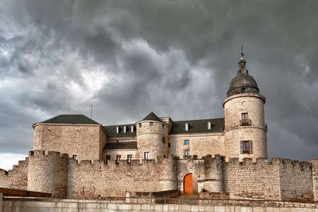 Simancas Castle, Valladolid, Castilla y Leon, Spain.