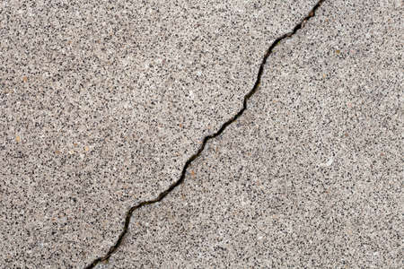 Cracked Concrete Wall Detail. Macro shot. Stock Photo