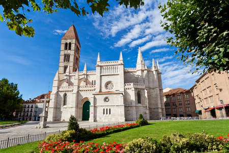 Santa Maria de la Antigua Church, Valladolid, Castilla y Leon. Spain. Stock Photo
