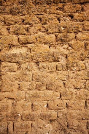 Adobe wall detail macro shot for Background or Textute
