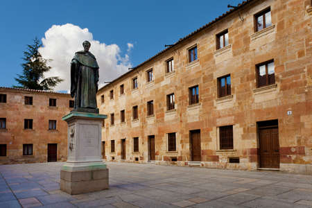 xv century: Fray Luis de Leon and University of Salamanca, Spain, XV century.  The old city of Salamanca was declared a UNESCO World Heritage site in 1988.
