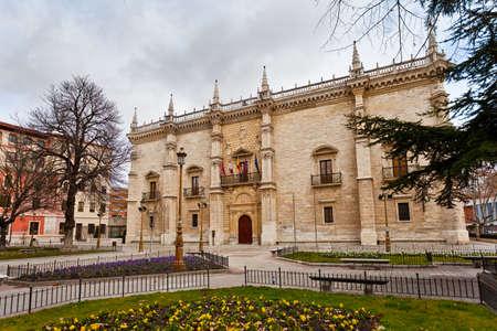 Old University College ofr Santa Cruz, XV century  Valladolid University,  Spain