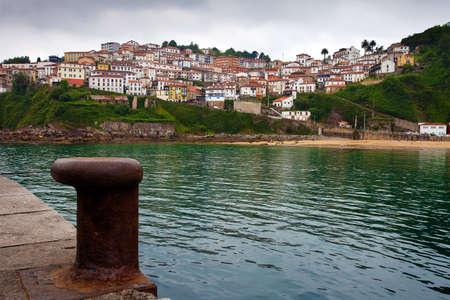 Fishing village of Lastres  Asturias, Spain