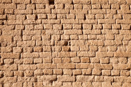 Old brick wall for background or Texture photo
