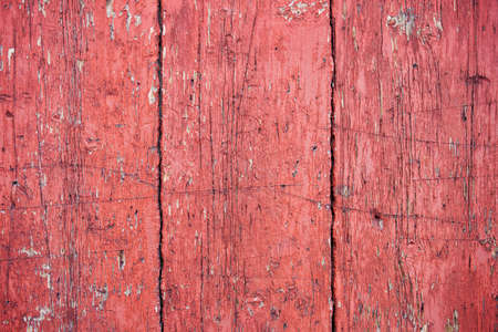 Old grunge wooden wall planks for background or texture