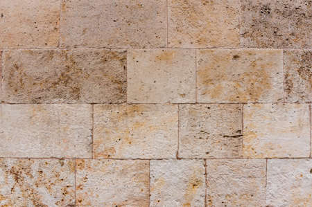 Ancient stone wall texture  detail for backgrounds