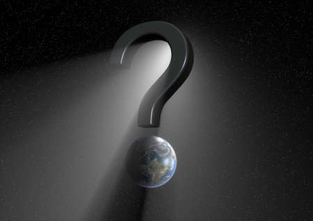 The big question Stock Photo - 9923638