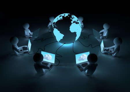 red informatica: Concepto de nube