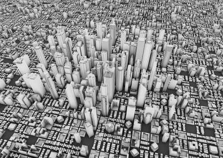 big city Stock Photo - 10414965