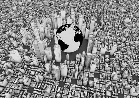 World city Stock Photo - 10414963