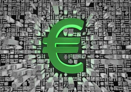Euro city Stock Photo - 10436001