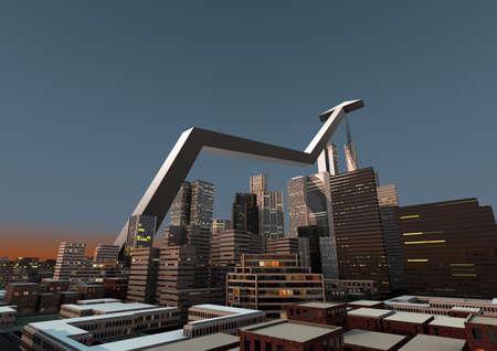 City growth Stock Photo