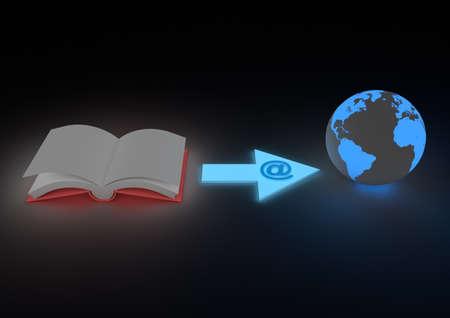 e book: Ebook concept