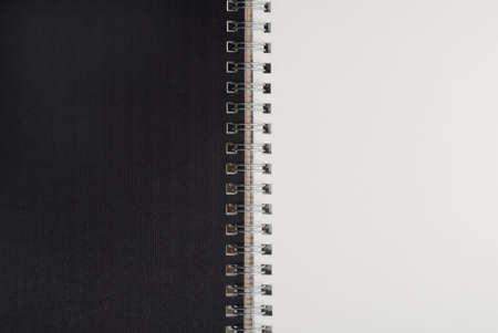 loose leaf: Macro detalle suelto de una gran hoja de papel con textura. Foto de archivo