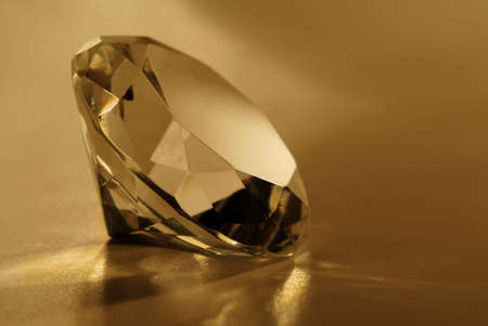 glas: Macro detail of a jewel. Stock Photo