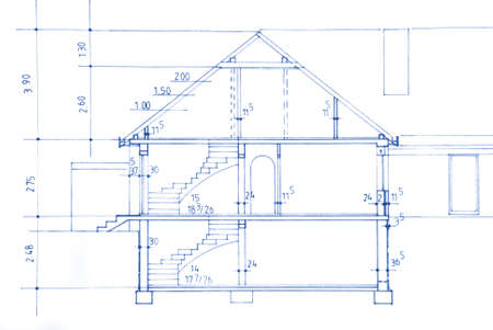 Blueprint of my own  - beautiful background image.