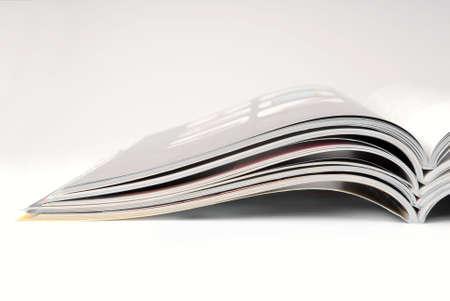 Stack of some different magazines. 版權商用圖片
