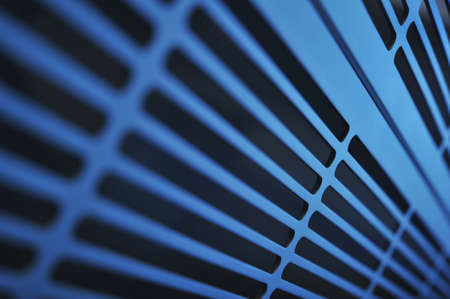metal grate: abstract industry background made of aluminum ventilation grids