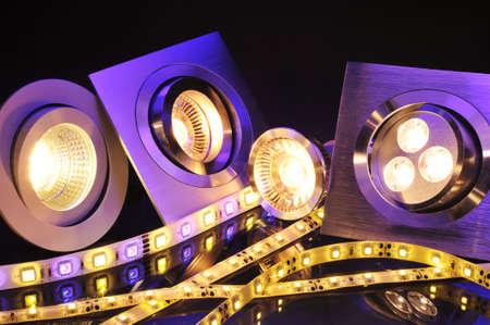 不同的電流LED,技術於一體的圖片 版權商用圖片 - 30526955