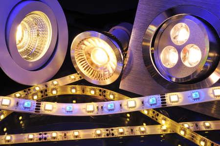 不同的電流LED,技術於一體的圖片 版權商用圖片 - 30524793