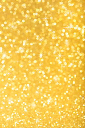 highlighted golden sparkle background for Christmas