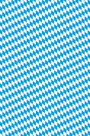 Oktoberfest in Germany - original Bavarian diamond pattern Standard-Bild