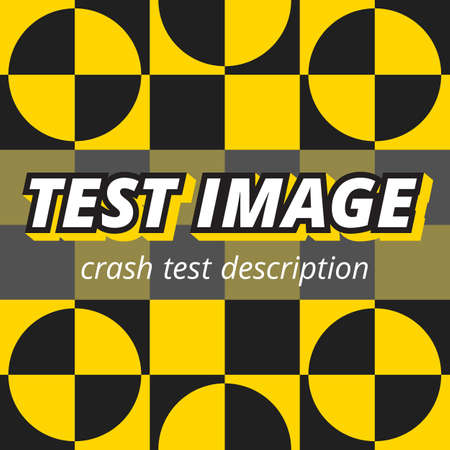 crash test style image screen color background