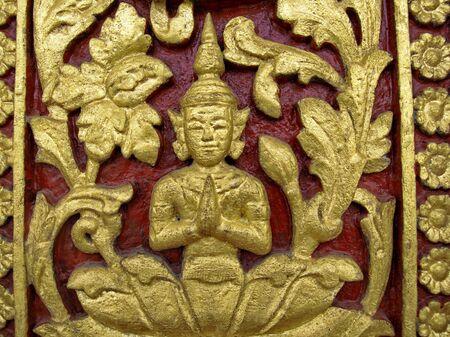 penh: Royal Palace complex, Wall details, Phnom Penh, Cambodia