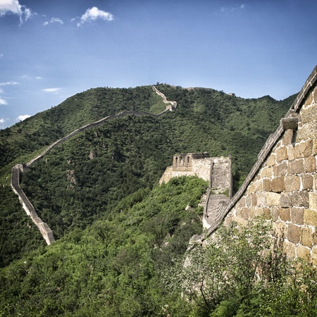 Yellow Flower section of the Great Wall, China