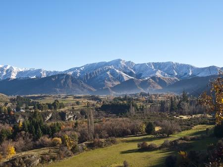 Autumnal Landscape, South Island, New Zealand