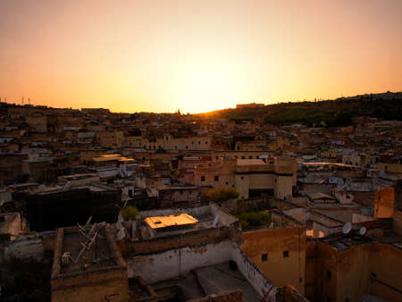 Fes - April 19  Landscape scene in Fez,  royal city of Morocco, Apr 19, 2013
