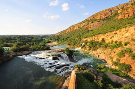 Hartbeespoort Dam also known as Harties about 35 kilometres west of Pretoria. Stock Photo