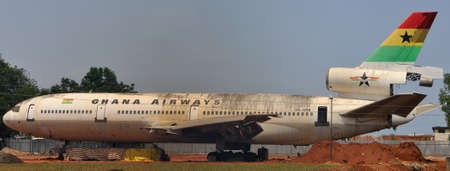 ceased: Ghana Airways Limited was the national airline of the Republic of Ghana with its main base of operation, and hub, at Kotoka International Airport in Accra  The airline ceased operations in 2004  Ghana Airways Jet on the ground in poor condition