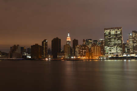 Manhattan following Power Outage from Long Island City