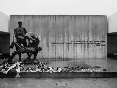 sachsenhausen: Memorial per le vittime del campo di concentramento di Sachsenhausen.
